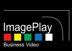 ImagePlay Logo White on Black